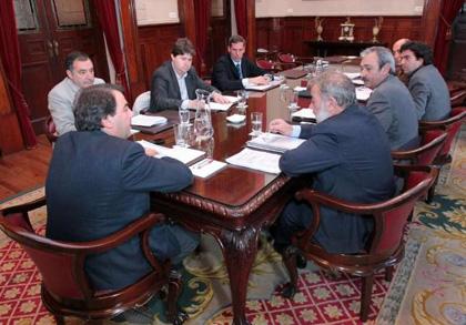 Foto de la reunión EDAR Bens de La Opinion de A Coruña
