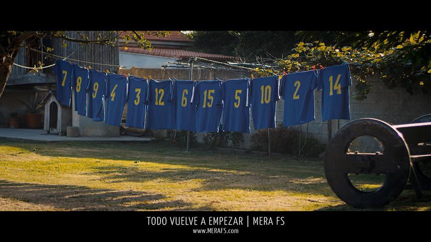 Ayer arrancó la pretemporada para los del equipo de fútbol sala de Mera