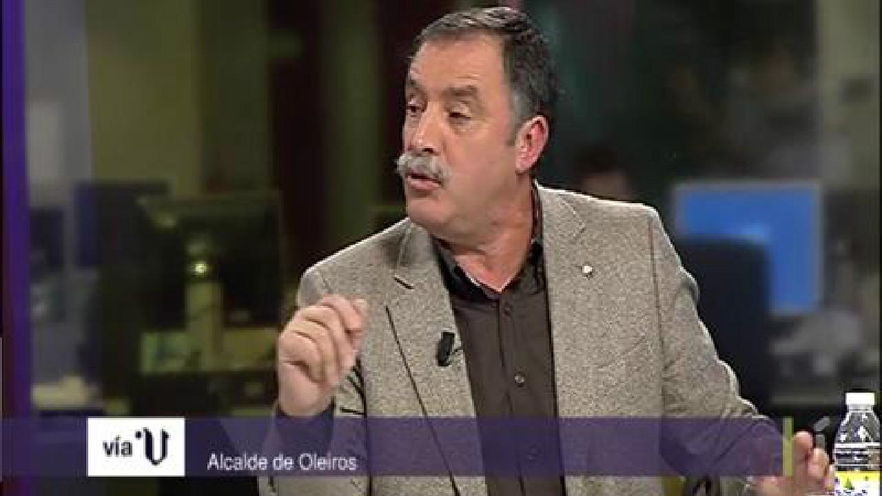 El pasado martes, el alcalde acudió a la entrevista de Vía V; programa de V Televisión presentado por Fernanda Tabarés